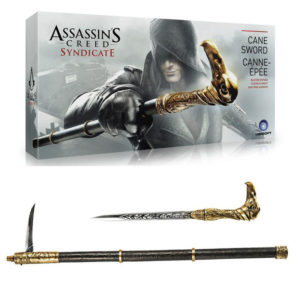 Action-Figure-Assassin-s-Creed-Syndicate-Hidden-Blade-font-b-Cane-b-font-font-b-Sword