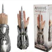 NECA-Assassins-Creed-Скрытый-Клинок-Братство-Эцио-Аудиторе-рукавицы-Реплика-Косплей-Игрушка-в-Подарок-1298-Ffree