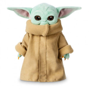 Малыш Йода игрушка плюшевая