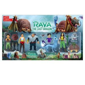 Игровой набор фигурок Райя и последний дракон